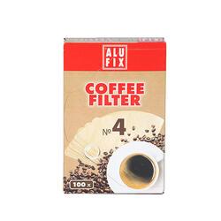 Alufix Filtre Cafea Nr4 100 Buc/Set