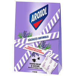 Aroxol Saculeti Lavanda Antimolii 4Buc