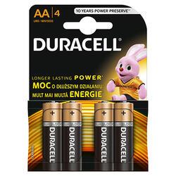 Duracell Baterie Basic AAk4 Nou 4 Buc