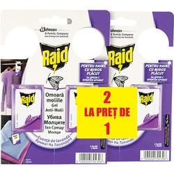 P Raid Gel Antimolii Lavanda 2+2 Buc