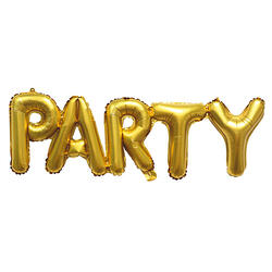 Ghirlandă Gonflabilă Party Aurie