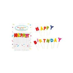Set 13 Lumânări Happy Birthday