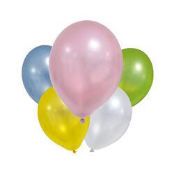 Set 8 Baloane Metalice