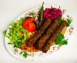 Kebab Mixt - Kebab în 3 culori image