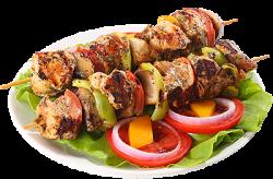 Meniu frigărui de pui grill cu legume