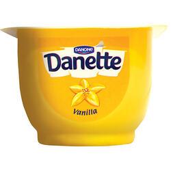 Danette Cremă Desert Vanilie 7% 125 g image