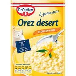 Dr.Oetker Orez Desert Gust Vanilie 124 g image