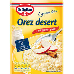 Dr.Oetker Orez Desert Măr, Scortiș.124 g image