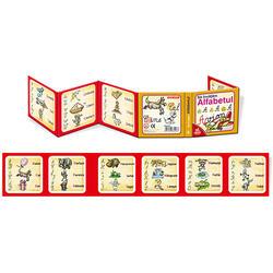 Cărți Pliante Educaționale Alfabetul 3+ image