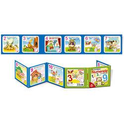 Cărți Pliante Educaționale Numerele 3+ image