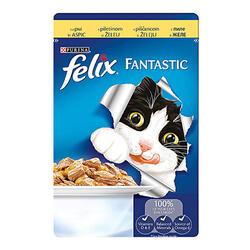 Felix Hrană Pisici Pui 100 g image