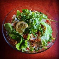Salată cu piept de pui și sos de iaurt image