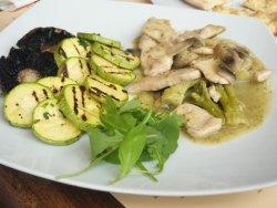 Piept de pui cu broccoli și lămâie  image