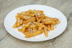 Cartofi prăjiți cu parmezan si oregano