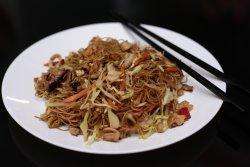 Noodles cu ciuperci și legume
