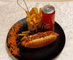 Hot-Dog & Fries image