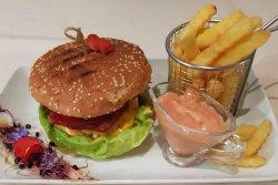 Cheeseburger & Fries image