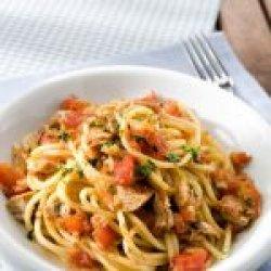 Spaghete al tonno