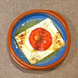 Brânză Feta saganaki image
