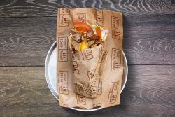 Sandwich gyros porc image