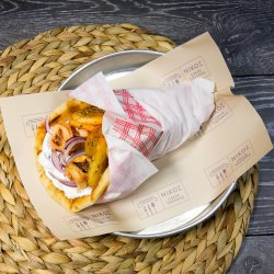 Sandwich souvlaki porc image