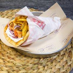 Sandwich souvlaki pui image
