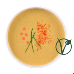 Supa crema de linte rosie image