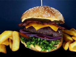 Double Bacon Burger image