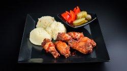 Meniu aripioare marinate picante cu sos sirachia image