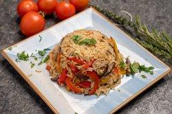 Orez basmati cu un  ciuperci / legume image