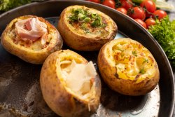 Cartofi cu panchetta & unt image