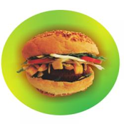 Cheesburger de pui porție medie image