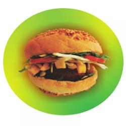 Hamburger de pui porție medie image
