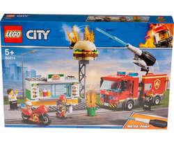 Lego City stingerea incendiului de la Burger Bar image