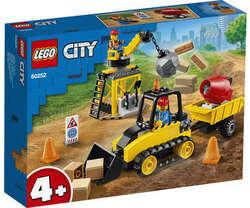 Lego City buldozer pentru constructii 60252 image