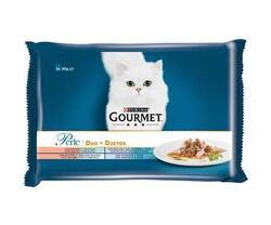 GOURMET PERLE cu peste in sos hrana umeda pentru pisici 4 x 85 g image