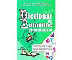 Dictionar de Antonime sinonimizat - Marin Buca, Mariana Cernicova image