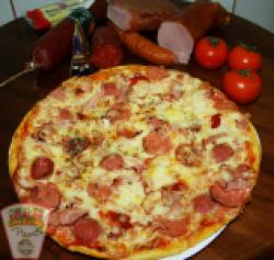 Pizza con carne 36 cm