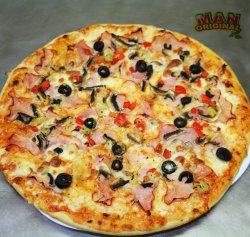 Pizza man mania 41 cm