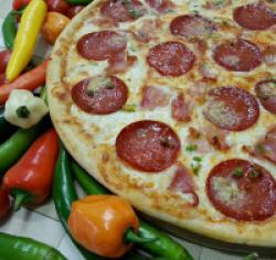 Pizza tufin original (picantă) 1+1 36 cm