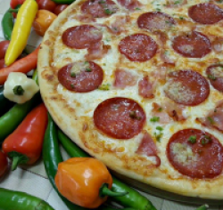 Pizza tufin original (picantă) 1+1 41 cm