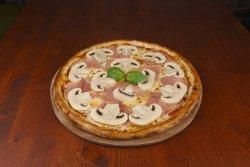 Pizza Prosciutto e funghi mega