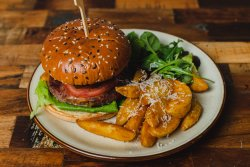 Meniu burger de vită Angus image
