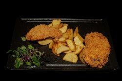 20% reducere: Șnițel de pui Chicken schnitzel image