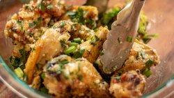 Aripioare la grill cheesy garlic image