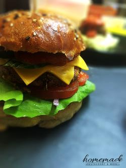 Burger Guacamole Veggie image