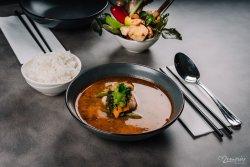 Tom Yum Soup legume & tofu image