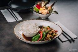 Chillies & Basil legume & tofu image