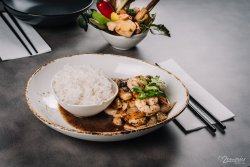 Garlic & Pepper legume & tofu image