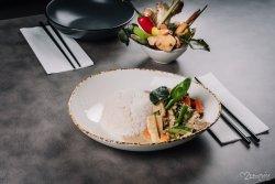 Green Curry legume & tofu image